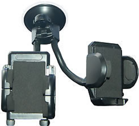 Shopper52 Universal Car Dual 2 Mobile Stand Holder Mount Sucker For Mobile Iphone Gps Mp4
