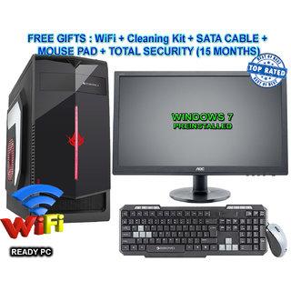 CI5/8/2GB GFX/2TB/DVD/22 CORE I5 CPU / 8GB RAM/2 GB GRAPHIC CARD/ 2TB HDD / DVDRW / ATX CABINET WITH 22 LED DESKTOP PC COMPUTER