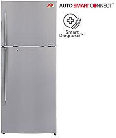 LG GL-I322RPZL 308 Litres Double Door Frost Free Refrigerator (Shiny Steel)