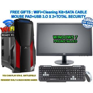 CI7/8/2GB GFX/2TB/DVD/22 CORE I7 CPU / 8GB RAM/2 GB GRAPHIC CARD/ 2TB HDD / DVDRW / ATX CABINET WITH 22 LED DESKTOP PC COMPUTER
