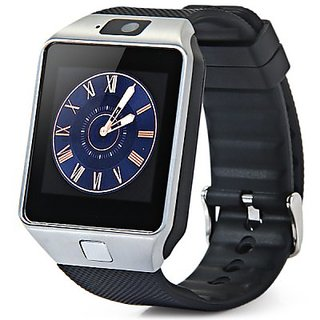 Smart Watch Phone DZ09 1.56 inch Touch Screen Bluetooth 3.0 Sync Call/SMS/Phonebook for Smartphone BLACK