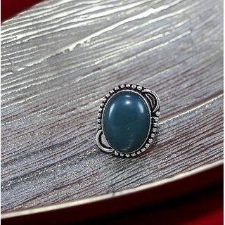 Tanngerine Vintage Silver Metal Stone Studded Rings