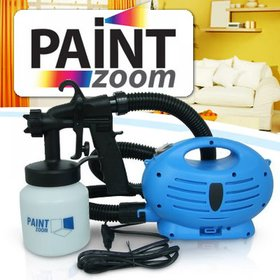 Paint Zoom Paint Sprayer Painting Machine compressor gun + Free 2 Aluma wallet