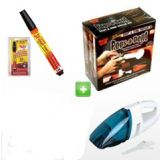 Car Dent Remover Kit+Free Vacuum Cleaner+Free Fix Pro Pen+1 Yr. Warranty