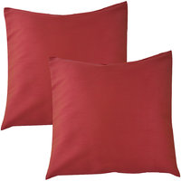 """HOME KOUTURE CLASSIC CANDY PINK IN 16""""X16"""" (SET OF 2)"""