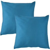 "HOME KOUTURE CLASSIC LIGHT BLUE IN 16""X16"" (SET OF 2)"