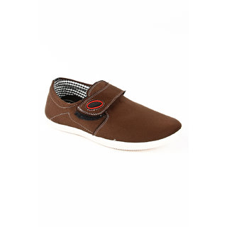 BNG Men's Brown Stylish Loafers
