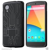 Cruzerlite Bugdroid Circuit Case Bumper Cover For Lg Nexus 5 Black