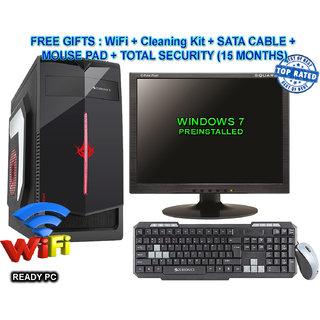 CI5/4/2GB GFX/160/DVD/17 CORE I5 CPU / 4GB RAM/2 GB GRAPHIC CARD/160GB HDD / DVDRW / ATX CABINET WITH 17 LCD DESKTOP PC COMPUTER