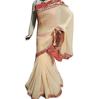 Indian Bandhej Saree