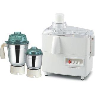 Sunny 500 W Juicer Mixer Grinder (White, 2 Jars)