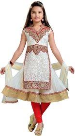 Aarika Thread Embroidered Designer Pajami Suit Set