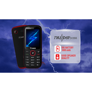ZIOX THUNDERBASS with 3000 mAH BATTERY