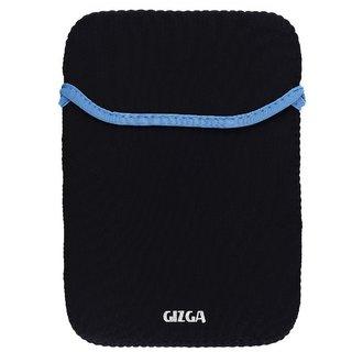 GIZGA 14.1 inch Protective Reversible Laptop Sleeve Black + Blue Colour