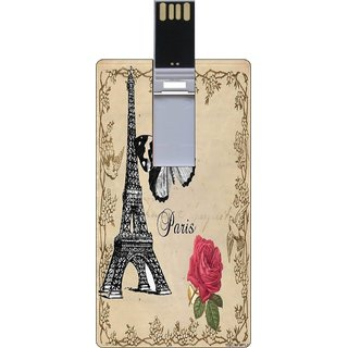 Go Hooked Printed 16GB Credit Card Pendrive