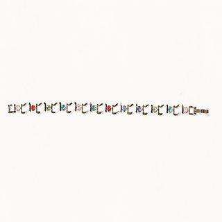 Urthn by JewelMaze Silver Plated Zinc Alloy Multicolour Austrian Stone Bracelet-AAB0315
