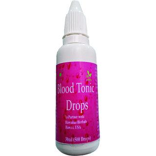 Hawaiian herbal blood tonic drops