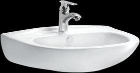 Cera Caren White Ceramic Wash Basin