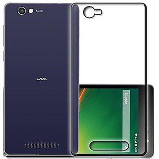 lowest price ffdd3 3a495 Lava A71 Transparent Soft Back Cover