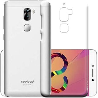brand new 5dd1c ce85a Coolpad Cool 1 Transparent Soft Back Cover