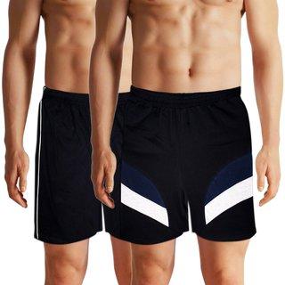 Black Brothers Black Shorts 2  pcs