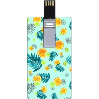 Go Hooked Printed 32GB Credit Card Pendrive