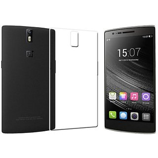 OnePlus One/1 + 1 Transparent Soft Back Cover