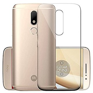 on sale 9cfd5 509a0 Motorola Moto M Transparent Soft Back Cover