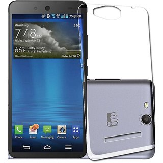 Micromax Canavs Juice 3 Q392 Transparent Soft Back Cover