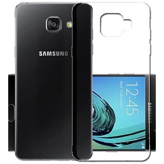 check out c660b e566a Buy Samsung Galaxy A5 (2016) Transparent Soft Back Cover Online ...