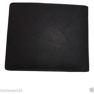 d7980bd4931c7 Atorakushon Mens Gents Pure Leather Wallet Purse Money Bag ...