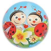 Simba The Bees Deflated Pvc Play Ball, Multi Color