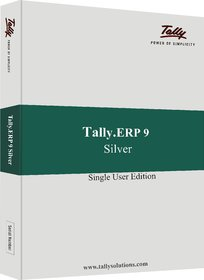 Tally ERP 9 Silver License Software Single User