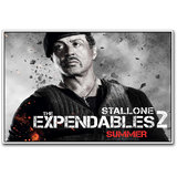 Sylvester Stallone In Expendables Poster By Artifa