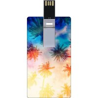 Go Hooked Printed 8GB Credit Card Pendrive