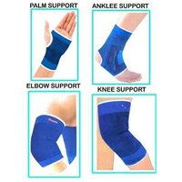 Pickadda Combo of Knee, Palm, Elbow, Ankle Supports for fitness