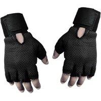 Pickadda Gyming Gym/Fitness Gloves (Free Size, Black)