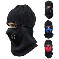 Pickadda Unisex Thermal Fleece Balaclava Wind/Pollution Stopper Face Mask/ Neck Warmer - Assorted