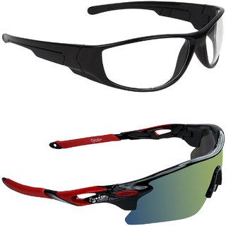 b05f686811 Buy Zyaden Yellow UV Protection Unisex Sports Sunglass Online - Get ...