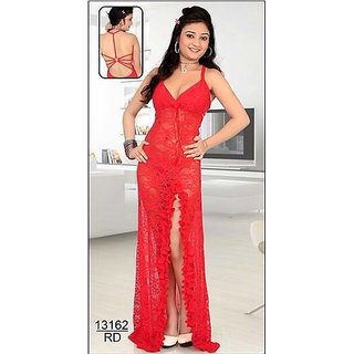 Hot Sleep Wear 2pc Babydoll   Panty Set Sheer Red Nighty   Thong Fun13162  Se Pay Prices in India- Shopclues- Online Shopping Store a3eb493bd