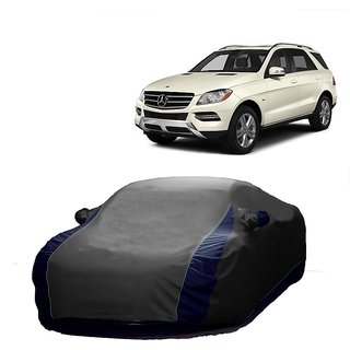 RideZ All Weather  Car Cover For Chevrolet Optra (Designer Grey  Blue )