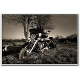 Superbike Black And White Poster By Artifa