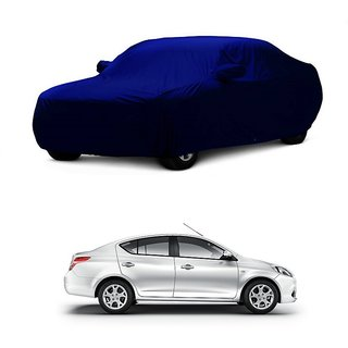 AutoBurn Car Cover For Land Rover Evoque (Blue With Mirror )