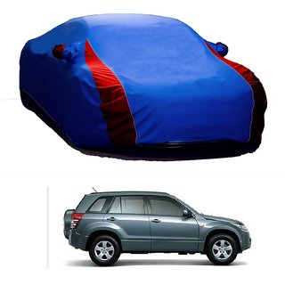 RideZ All Weather  Car Cover For Nissan GT-R (Designer Blue  Red )
