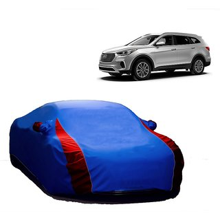 RideZ All Weather  Car Cover For Maruti Suzuki SX4 (Designer Blue  Red )