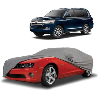 RoadPluS All Weather  Car Cover For Fiat Linea Classic (Grey With Mirror )