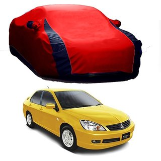 RoadPluS All Weather  Car Cover For Maruti Suzuki Brezza (Designer Red  Blue )