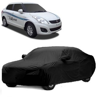 RoadPluS All Weather  Car Cover For Mahindra Xuv500 (Black With Mirror )