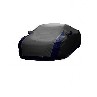 RoadPluS All Weather  Car Cover For Maruti Suzuki Gypsy King (Designer Grey  Blue )
