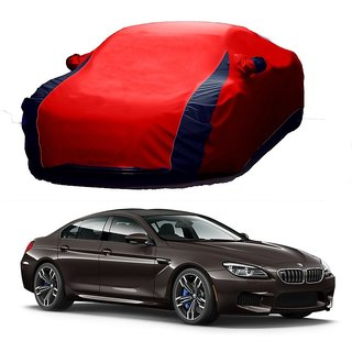 RoadPluS All Weather  Car Cover For Hyundai Grand I10 (Designer Red  Blue )